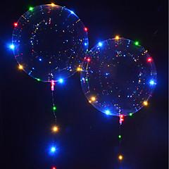 billige Originale moroleker-LED-belysning LED-ballonger Leketøy Ferie Fødselsdag Selvlysende Nytt Design Barne Voksne 1pcs Deler