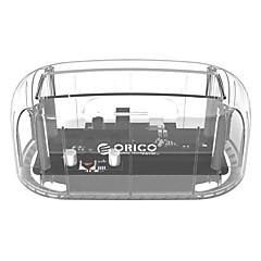 baratos Capas para Disco Rígido-ORICO Gabinete do disco rígido Indicador LED PC (policarbonato) ABS USB 3.0