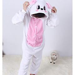 billige Undertøj og sokker til piger-Baby Pige Tegneserie Trykt mønster Langærmet Bomuld Nattøj