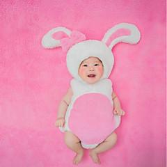billige Babytøj-Baby Pige Trykt mønster Uden ærmer Bomuld Tøjsæt / Sødt