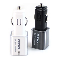 tanie Części do motocykli i quadów-szybki ładunek 2 porty USB tylko ładowarka dc 5v / 2.1a
