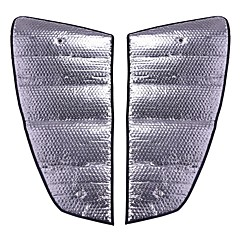 baratos -viseira de carro janela de carro de 8 peças com janela dianteira e traseira sunroof material de folha de alumínio para modelos bmw 10-16