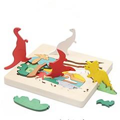 billige Puslespill i tre-Puslespill i tre Klassisk Tema Spesialdesignet Lindrer ADD, ADHD, angst, autisme Focus Toy Foreldre-barninteraksjon Tre 1pcs Anime Barne