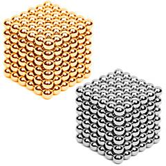 tanie Zabawki magnetyczne-magnes zabawki Magnes neodymowy Kulki magnetyczne 216*2pcs 3mm Magnes Metal Kula Cylindryczny Dla obu płci Zabawki Dla dorosłych Prezent