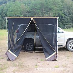 billige Telt og ly-Deerke 3-4 personer Dobbelt camping Tent Ett Rom Familietelt Regn-sikker til Camping / Vandring / Grotte Udforskning Picnic Reise