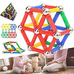 tanie Klocki magnetyczne-Blok magnetyczny Magnetyczne pałeczki Klocki 103pcs Cylindryczny Transformable Interakcja rodziców i dzieci Klasyczny styl Zabawki Prezent