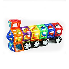 tanie Klocki magnetyczne-Blok magnetyczny Klocki 158pcs Zaokrąglanie Kwadrat Wojownik Samochód Transformable Interakcja rodziców i dzieci Współczesny Classic &