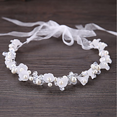 cheap Party Headpieces-Alloy Rhinestone Crystal Imitation Pearl Metallic 1pc Wedding Special Occasion Headpiece