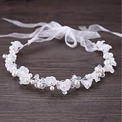abordables Coiffes-Alliage Strass Cristal Imitation Perle Métallique 1pc Mariage Occasion spéciale Casque