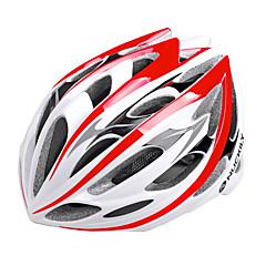 お買い得  自転車用ヘルメット-Nuckily バイクヘルメット サイクリング 30 通気孔 調整可 エクストリームスポーツ ワンピース マウンテン 都市 超軽量(UL) スポーツ マウンテンサイクリング ロードバイク レクリエーションサイクリング サイクリング