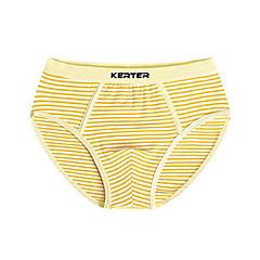 billige Undertøj og sokker til drenge-2stk Børn Drenge Simple Stribet Bomuld Undertøj og strømper Blå 150