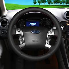 billige Rattovertrekk til bilen-bil ratt dekker (lær) for ford alle år mondeo