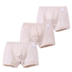 billige Undertøj og sokker til drenge-3 Dele Børn Drenge Simple Stribet Bomuld Undertøj og strømper Hvid