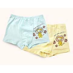 ieftine Lenjerie & Șosete Băieți-2 Băieți Simplu Desene Animate Bumbac Lenjerie  & Șosete