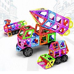 tanie Klocki magnetyczne-Blok magnetyczny / Klocki 198 pcs Pojazdy / Samochód Transformacja Dla chłopców Prezent
