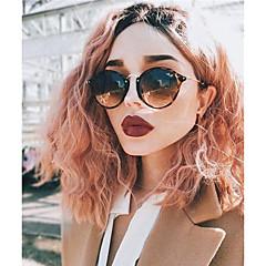 billiga Peruker och hårförlängning-Syntetiska snörning framifrån Vågigt Bob-frisyr Mittbena Rosa Dam Spetsfront Halloween Paryk Celebrity Wig Naturlig peruk Cosplay Peruk