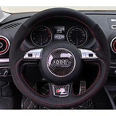 billige Rattovertrekk til bilen-Rattovertrekk til bilen ekte lær 38 cm Audi A4L / Q5 / Q7 Alle år