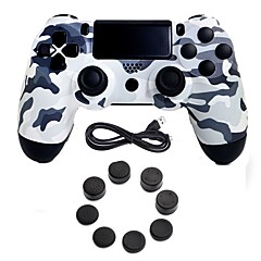 cheap PS4 Accessories-Wired Game Controller Gamepad Controller Joystick Gamepads with Silicone Cap for PS4