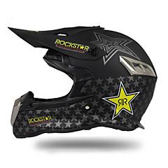 tanie Kaski i maski-128 Motocross Doroślu Unisex Kask motocyklowy Ochrona przed wiatrem / Odporny na wstrząsy / Odporność na promienie UV