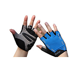 tanie Rękawiczki motocyklowe-wierzchowe rękawiczki z odkrytymi palcami, antypoślizgowe, oddychające
