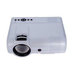 cheap -L8 LCD Mini Projector Projector 1000 lm Support 1080P (1920x1080) 63-150 inch Screen / WVGA (800x480) / ±15°