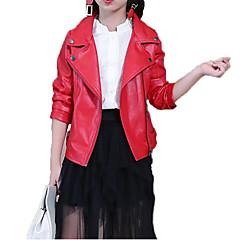 baratos Roupas de Meninas-Infantil Para Meninos / Para Meninas Casual / Punk & Góticas Esportes Sólido / Estampado Manga Longa Jaqueta & Casaco
