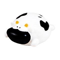 hesapli Banyo Oyuncakları-Banyo Oyuncakları Cow Hayvan Sevimli 3D Karikatür Emülsiyon Genç Erkek Çocuklar için Hediye 1pcs