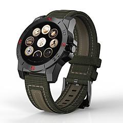 tanie Inteligentne zegarki-Inteligentny zegarek na iOS / Android Pulsometry / Krokomierze / Powiadamianie o wiadomości / Obsługa aparatu / Lokalizator Stoper / Krokomierz / Powiadamianie o połączeniu telefonicznym / Budzik
