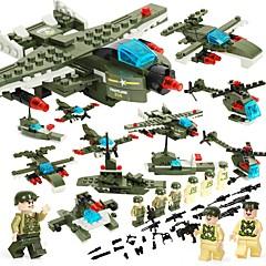 billiga Leksaker och spel-BEIQI Byggklossar 452pcs Militär Stress och ångest Relief / Föräldra-Barninteraktion / Dekompressionsleksaker Tecknat / Designad i Kina