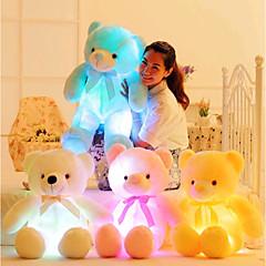 olcso -50cm Creative Light Up LED Teddy Bear Medve Punjene i plišane igračke Romantika Szeretetreméltő Ajándék