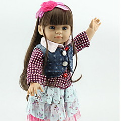cheap Dolls, Playsets & Stuffed Animals-Reborn Doll New Design Newborn lifelike Cute All Gift
