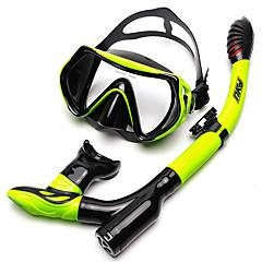 billiga Dykmasker, snorklar och simfötter-Dykning Paket / Snorklingspaket Anti-dimma - Simmning, Dykning Silikon Vuxen