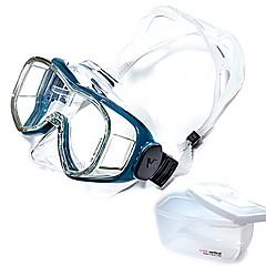billiga Dykmasker, snorklar och simfötter-Snorkelmask / Simglasögon professionell nivå, Enkelt Justerbar enda fönster - Simmning, Dykning Härdat glas, PC - för Vuxen Vit / Svart /