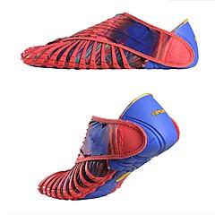baratos Tênis de Corrida-Five-Toes Homens Tênis de Corrida Borracha Exercicio Exterior / Corrida Leve, Secagem Rápida, Respirável Sintético Vermelho / Azul / Azul