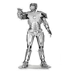 cheap -3D Puzzles Metal Puzzles Creative Focus Toy Hand-made Metal People Standing Style Toy Girls' Boys' Gift