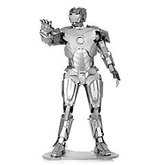 preiswerte -3D - Puzzle Metallpuzzle Roboter Fokus Spielzeug Handgefertigt Metal 1pcs Ständer Menschen Spielzeug Kinder Erwachsene Mädchen Jungen