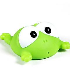 hesapli Banyo Oyuncakları-Banyo Oyuncakları Kurbağa Hayvan Sevimli 3D Karikatür Emülsiyon Genç Erkek Çocuklar için Hediye 1pcs