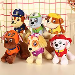 cheap Dolls, Playsets & Stuffed Animals-Dog Stuffed Animal Plush Toy Comfy Animals Lovely Gift 4pcs