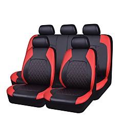 billige Setetrekk til bilen-Setetrekk Svart Grå Svart/Rød PU Leather Tøy Forretning for Universell Universell