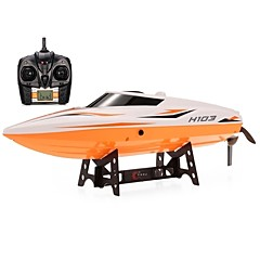 cheap RC Boats-RC Boat H105 (H103) ABS 4pcs Channels 28-30km/h KM/H