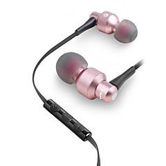 billiga Headsets och hörlurar-AWEI 50TY I öra Kabel Hörlurar Dynamisk Mahogany Sport & Fitness Hörlur Med volymkontroll / mikrofon / Svart & Vit headset