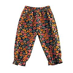 tanie Odzież dla dziewczynek-Brzdąc Dla dziewczynek Kwiaty Bawełna Spodnie