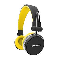 billiga Headsets och hörlurar-AWEI A700BL Över örat Bluetooth 3.0 Hörlurar Dynamisk Mahogany Sport & Fitness Hörlur Med volymkontroll / Ljudisolerande / Stereo headset