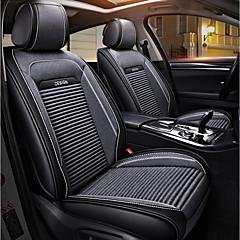 billige Setetrekk til bilen-ODEER Setetrekk Grå tekstil PU Leather Vanlig for Universell Alle år Alle Modeller