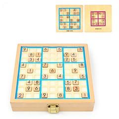 billige Labyrint & Sekvenspuslespil-Sudokupuslespil Træ Børne Voksne Gave 81pcs