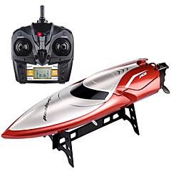 Χαμηλού Κόστους Τηλεκατευθυνόμενα Σκάφη-RC βάρκα H106 Πλαστικά 4 pcs Κανάλια 28 km/h KM / H
