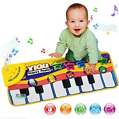 billige Originale moroleker-Musikalsk teppe Musik Prins Prinsesse Foreldre-barninteraksjon 1pcs Høy kvalitet Smuk Baby Gave