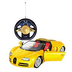 billige Fjernstyrte biler-Radiostyrt Bil 2CH 2.4G Bil 1:24 Børsteløs Elektrisk 8-10 km/h KM / H