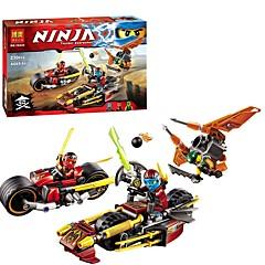 baratos -Blocos de Construir 230pcs Ninja Interação pai-filho Desenho Dom