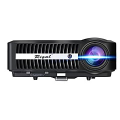 baratos -Rigal RD-807 LCD Projetor para Home Theater LED Projetor 9900 lm Android6.0 Apoio, suporte 1080P (1920x1080) 40-300 polegada Tela